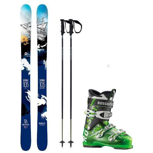 Demo Freeride Ski Package